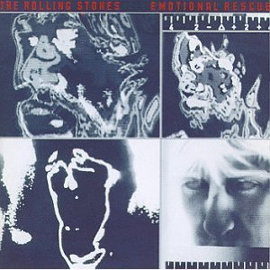 rolling stones - emotional rescue CD 1980 virgin in original plastic case