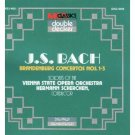 bach brandenburg concertos nos. 1-6 - soloists of vienna state opera orch CD 2-discs 1990 MCA mint