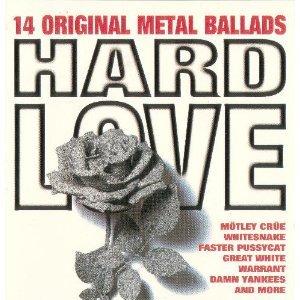 hard love - 14 original metal ballads CD 1994 warner jci essex used mint