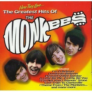 here they come the greatest hits of the monkees CD 1997 wea 25 tracks used mint