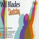 wil blades - sketchy CD 2007 doodlin used mint
