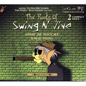 roots of swing n jive - minnie the moocher and jungle swing CD 2-discs 1999 retro deuce used mint