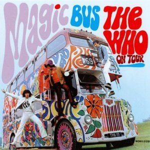 the who on tour - magic bus CD MCA canada used very good