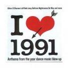 mixmag - i love 1991 - classic old skool CD 2001 used mint