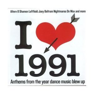 mixmag - i love 1991 - classic old skool CD 2001 used mint