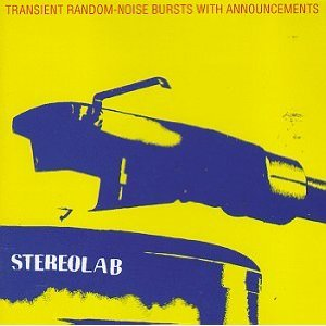 stereolab - transient random-noise bursts with announcements CD 1993 elektra used mint