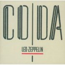 led zeppelin - coda CD swan song 8 tracks used mint
