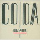 led zeppelin - coda CD swan song 8 tracks used mint