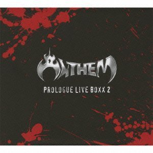 anthem - prologue live boxx 2 CD 2010 JVC japan Ltd Ed #01953 used mint