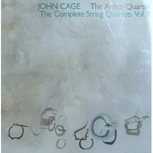 john cage and the arditti quartet - complete string quartets vol.1 CD 1989 mode records used mint