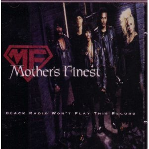 mother's finest - black radio won't play this record CD 1992 scotti bros used mint barcode punched