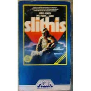 slithis VHS 1981 media home 86 minutes used good