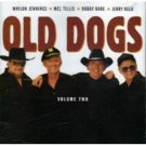 old dogs volume 2 - waylon jennings, mel tillis, bobby bare, jerry reed CD 1998 atlantic used mint