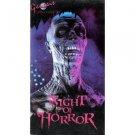 night of horror -  Steve Sandkuhler, Gae Schmitt VHS genesis 76 mins used very good