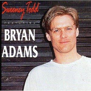 sweeney todd featuring bryan adams CD 1992 merlin receiver used mint