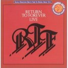 return to forever - live CD 2-disc set 1992 sony legacy used mint