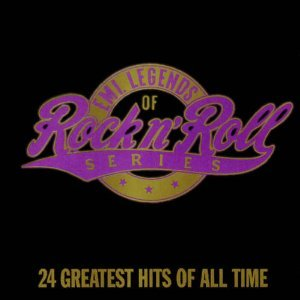 EMI legends of rock n roll series - 24 greatest hits of all time CD 1991 EMI used mint