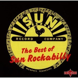 best of sun rockabilly CD 1986 charly 22 tracks made in france used mint