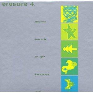erasure - Erasure 4 - EBX Singles CD 5-discs 2001 mute UK used mint