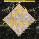 20 years of hope 1971 - 1991 - maranatha! singers CD 1991 maranatha used mint