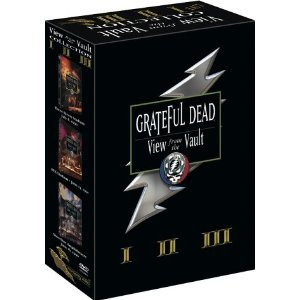grateful dead - view from the vault I II III DVD 3-disc set 2002 monterey video used mint