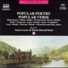 popular poetry popular verse CD audiobook 2-discs 1994 naxos mint