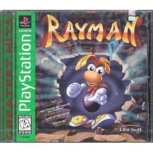 rayman - playstation 1997 sony ubi soft kids to adults 6+ used mint