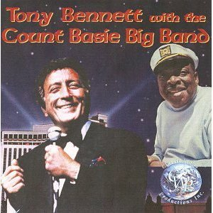 tony bennett with the count basie big band CD 1999 classic world productions used mint