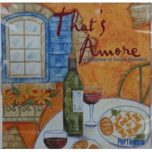 that's amore - collection of italian favorites CD 2001 emi capitol used mint