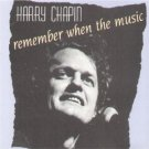 harry chapin - remember when the music CD 1987 DCC used mint
