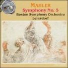 mahler - symphony no.5 - BSO with Leinsdorf CD 1990 RCA silver seal used mint