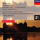 mahler sym no.2 & Schmidt  sym no.4 - VPO & mehta CD 2-discs 1994 decca mint