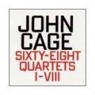 john cage - sixty-eight quartets I-VIII CD 1995 hat hut used mint