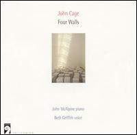 john cage - four walls - mcalpine piano & griffith voice CD largo germany used mint