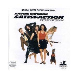 satisfaction - original motion picture soundtrack CD 1988 NBC AJK 12 tracks used mint