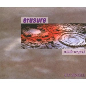 erasure - a little respect CD single 1988 mute records 4 tracks used mint