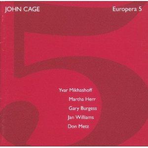 john cage - europera 5 CD 1994 mode records used mint