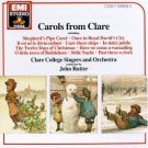 carols from clare - calre college singers & orchestra with john rutter CD 1988 EMI used mint