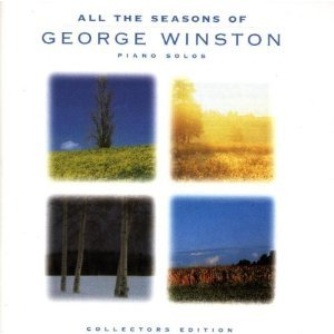 george winston - all the seasons of george winston CD 1998 windham hill dancing cat BMG Direct new