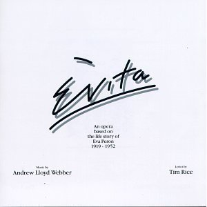 evita an opera based on the life of eva peron 1919 - 1952 1976 studio case CD MCA BMG Direct mint