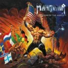 manowar - warriors of the world gold edition w/bonus tracks and video CD 2002 magic circle mint