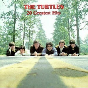 the turtles - 20 greatest hits CD 1984 rhino high concept BMG Direct used mint