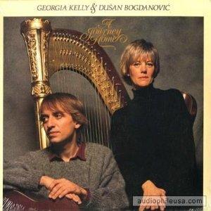 georgia kelly & dusan bogdanovic - a journey home CD 1989 CBS global pacific used mint