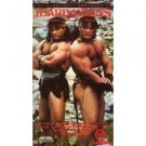 barbarians starring David Paul & Peter Paul VHS 1987 used very good