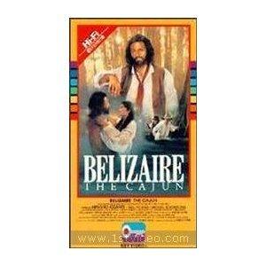 belizaire the cajun VHS 1987 fox CBS 113 min used