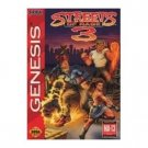 genesis - streets of rage 3 - sega of america used very good