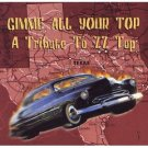 gimme all your top - a tribute to zz top CD 2001 big eye music used mint