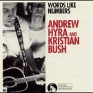 andrew hyra and kristian bush - words like numbers CD 1993 sister ruby used mint