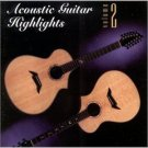 acoustic guitar highlights volume 2 - various artists CD 1998 solid air used mint