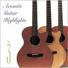 acoustic guitar highlights volume 3 - various artists CD 1997 solid air used mint